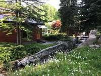 ze sauny rovnou do potoka - Jeseník