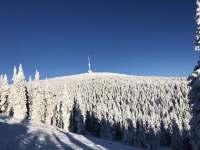 RD Zlaté Hory - Praděd v zimě - pronájem rekreačního domu
