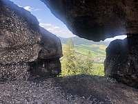 RD Zlaté Hory - Vyhlídka Čertovy kameny v Jeseníkách - rekreační dům k pronajmutí