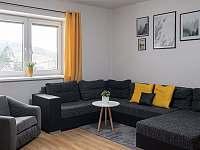 Obývací pokoj - chata k pronajmutí Nové Losiny