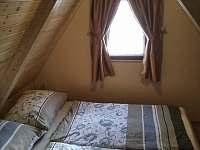 Ložnice 1 - pronájem chaty Suchá Rudná