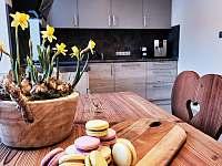 kuchyň - chalupa ubytování Dolní Bušínov