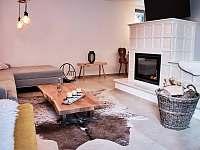 obývací pokoj - chalupa ubytování Dolní Bušínov