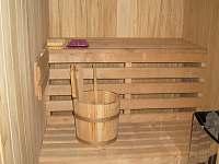 Sauna - pronájem chaty Kunčice