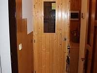 Sauna vstup - chata k pronájmu Kunčice