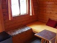 malá chata č.1.a č. 2. pro 2.osoby a dítě-pokoj a přistýlka - k pronajmutí Karlovice