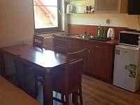 kuchyně - chata ubytování Dolní Moravice
