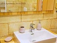 Apartmány AVIATIK, apartmán AERO, koupelna - Hradec-Nová Ves