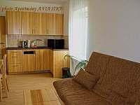 Apartmány AVIATIK, apartmán BLANÍK, obývací pokoj - Hradec-Nová Ves