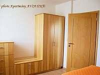 Apartmány AVIATIK, apartmán ZLÍN, ložnice - Hradec-Nová Ves