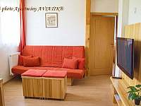 Apartmány AVIATIK, apartmán ZLÍN, obývací pokoj - Hradec-Nová Ves