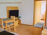 Apartmány AVIATIK, obývací pokoj - Hradec-Nová Ves