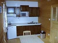 Srub s 1 ložnicí - 4 osoby - Kuchyň - ubytování Dolní Morava