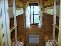 Srub s 1 ložnicí - 4 osoby - ložnice - Dolní Morava