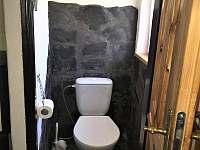 WC - chata k pronájmu Dobřečov