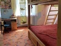 ložnice s palandou - pronájem apartmánu Jeseník