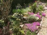okrasná zahrada - apartmán ubytování Jeseník