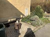 posezení na zahradě - apartmán ubytování Jeseník