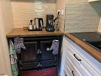 espresso na mletou kávu - chata k pronájmu Ludvíkov
