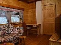 Obývací pokoj - chata k pronajmutí Ludvíkov