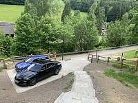 Parkování - chata k pronájmu Ludvíkov