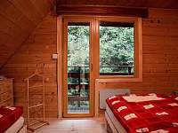 Spaní 3 - pronájem chaty Ludvíkov