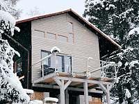 zimní pohled - chata k pronajmutí Dolní Bušínov