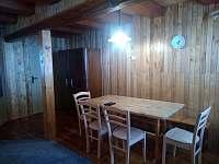Jídelna - chata k pronájmu Petříkov