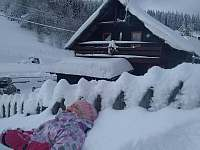 Leden 2019 - pronájem chaty Petříkov