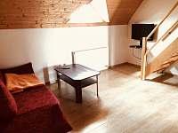 Obývací místnost - apartmán ubytování Dolní Moravice