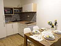 Kuchyňský kout - apartmán ubytování Horní Václavov