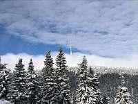 Praděd v zimě - apartmán k pronájmu Horní Václavov