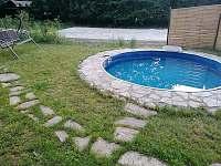 Chalupa Morava, bazén (průměr 3,5 m) - k pronajmutí Hrabenov