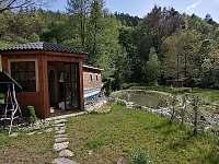 Chalupa Morava,místo pro relaxaci, kde se nachází sauna, solná jeskyně a vířivka - k pronajmutí Hrabenov
