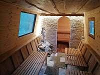 Chalupa Morava, solná jeskyně se saunou - Hrabenov