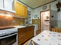 Kuchyně - chata ubytování Supíkovice