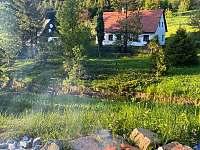 Roubenka v údolí - roubenka k pronajmutí Zlaté Hory - Horní Údolí