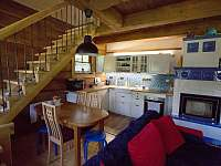 Roubenka v údolí, kuchyň - Zlaté Hory - Horní Údolí