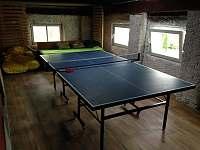Místnost se stolním tenisem - Vidnava