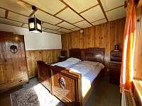 Ložnice - chata ubytování Veveří