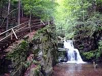 Rešovské vodopády - chata k pronájmu Veveří