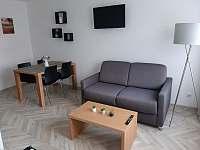 Obývací prostor - apartmán ubytování Zlaté Hory