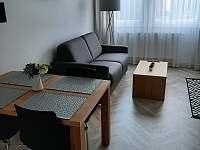 Obývací prostor - apartmán k pronájmu Zlaté Hory