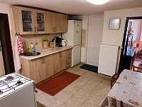 kuchyň - chalupa ubytování Bělá pod Pradědem - Adolfovice