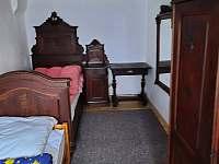 ložnice - chalupa k pronájmu Bělá pod Pradědem - Adolfovice