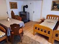 ložnice - chalupa ubytování Bělá pod Pradědem - Adolfovice