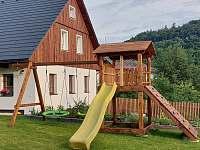 Chalupa Filipová - dětské hřiště - ubytování Loučná nad Desnou