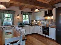 Chalupa Filipová - kuchyň - k pronajmutí Loučná nad Desnou