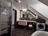 koupelna - chalupa ubytování Písečná
