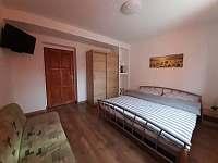 ložnice č.1 - apartmán k pronájmu Skorošice